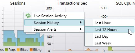 SQL Server history viewer button