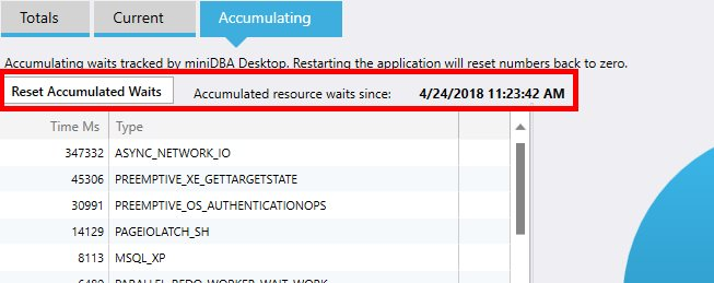 Sql Server Accumulating Waits